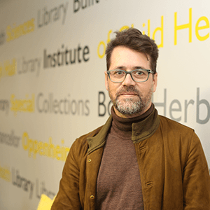 Niklas Zimmer: Manager of Digital Library Services
